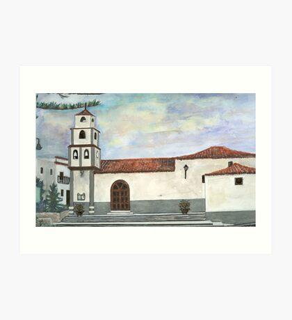 Church, El Rio Art Print