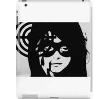 Bullet Gal #4 excerpt cover iPad Case/Skin