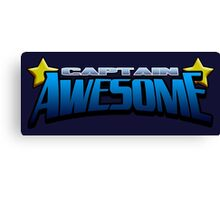 Captain Awesome Canvas Print