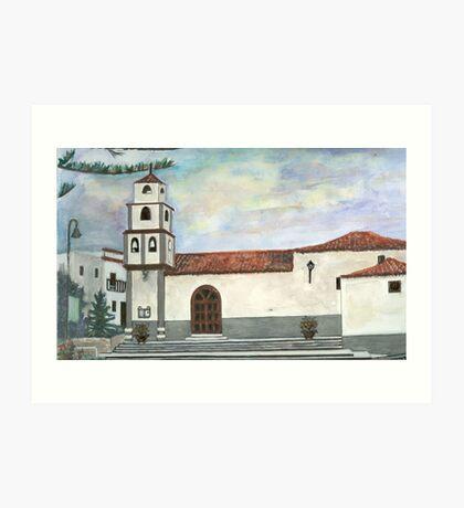 Church view Art Print