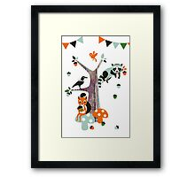 Friends of the forest Framed Print