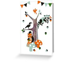 Friends of the forest Greeting Card