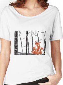 FOX & FOREST Women's Relaxed Fit T-Shirt