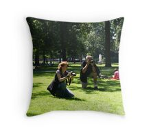 The Photographers Throw Pillow