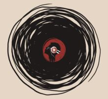 I'm spinning within with a vinyl record... by Denis Marsili - DDTK