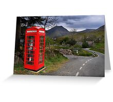 The Phonebox Greeting Card