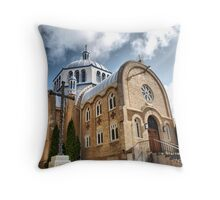 st mary's church - front Throw Pillow