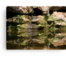 Reflections of Hocking Hills Canvas Print
