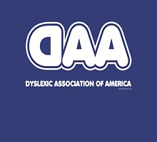 Dyslexia Association of America Womens Fitted T-Shirt