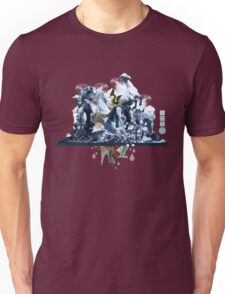 The Game of Kings, Wave Three: The White Queen-Knight's Pawn Unisex T-Shirt