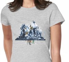 The Game of Kings, Wave Three: The White Queen-Knight's Pawn Womens Fitted T-Shirt
