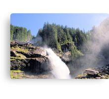 Krimml waterfall Austria Canvas Print