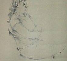 life drawing by Keith Tait