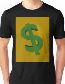 U.S. dollars Unisex T-Shirt