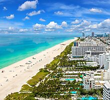 Postcard from South Beach, Miami, Florida by Digital Editor .