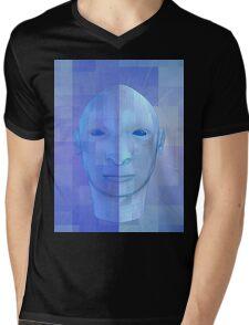 man in 3d Mens V-Neck T-Shirt
