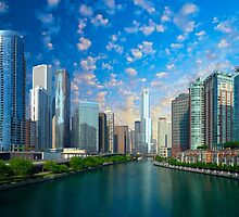 Chicago, USA - Skyline by Digital Editor .