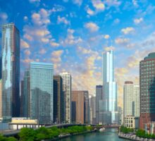 Chicago, USA - Skyline Sticker