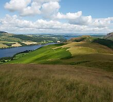 View over Ullswater in The Lake District by Duncan Payne