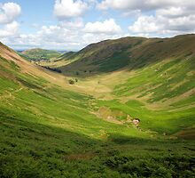 Green U-Shaped Glacial Valley by Duncan Payne