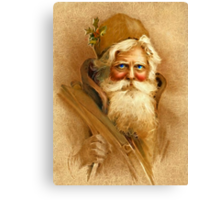 Old World Santa Canvas Print
