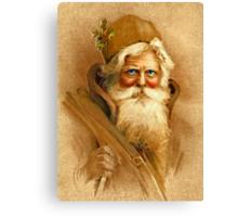 Old World Santa Canvas Print