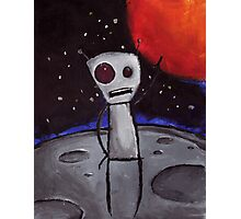 Alien Boy Photographic Print