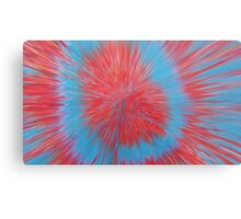 Colourful Abstract Digitally Manipulated Print Metal Print