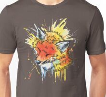 Fox Watercolor Unisex T-Shirt