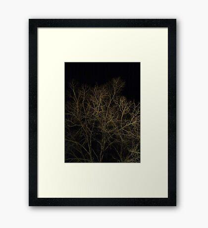 Cerebral Limbs Framed Print