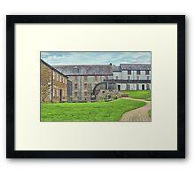 Buckfast Abbey Mill Framed Print