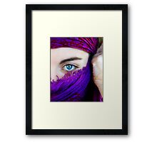 A look, a world Framed Print