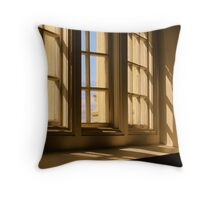 Stephens Hall Window Throw Pillow