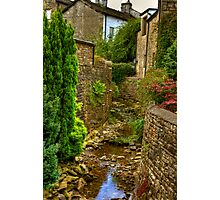 Village Stream - Dent. Photographic Print
