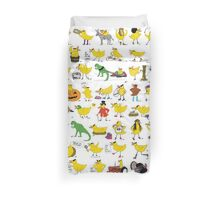 All the ducks Duvet Cover