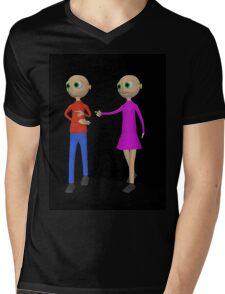 curiosity  Mens V-Neck T-Shirt