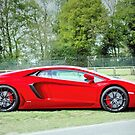 Red Aventador by JEZ22