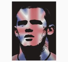 Wayne Rooney T Shirt Best of British by kmercury