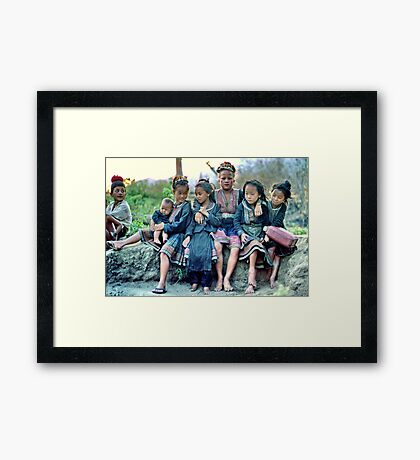 Close together Framed Print