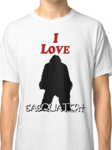 I Love Sasquatch Classic T-Shirt