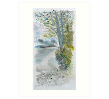 River Plym 2 Art Print