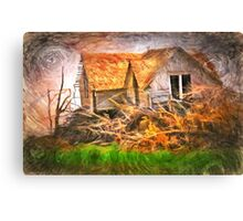 After The Wind Stops Canvas Print