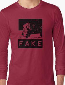 NASA Moon Landing Fake Long Sleeve T-Shirt