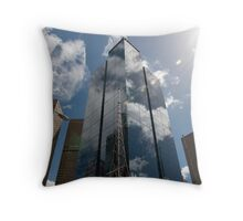 A Crystal Clear Reflection Throw Pillow