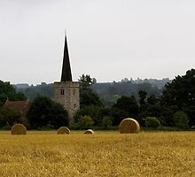 St Margret's Church, Barming by Adrian  Line