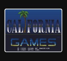 California Games Genesis Megadrive Sega Start menu screenshot by ruter