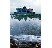 Isle of Wight Ferry, Hampshire, U.K. Photographic Print