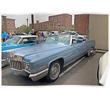 1970 Cadillac Convertible Poster