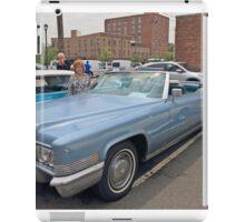 1970 Cadillac Convertible iPad Case/Skin