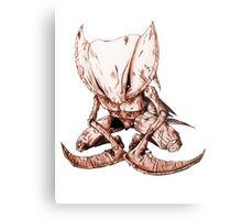 Kabutops Brown Metal Print
